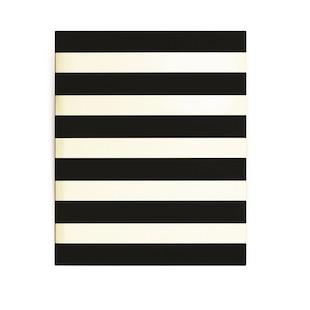 Kate Spade Spiral Notebook Black Stripe