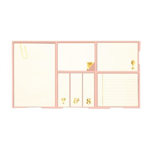 Sticky Note Set - Assorted Gold