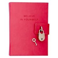 Locked Diary Pink by Eccolo