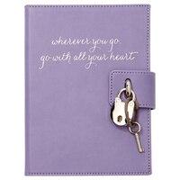 Locked Diary Wherever You Go - Lavender  by Eccolo