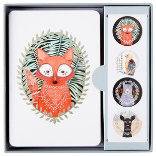 Woodland Creatures Note Cards