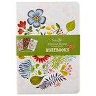 Set of 3 Notebooks - Botanical Blooms