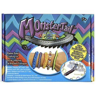 Rainbow Loom Monster Tail - Travel Loom