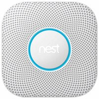 Nest Protect 2nd Gen Smoke + Carbon Monoxide Alarm, Wired by Nest Labs