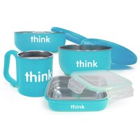 THINKBABY FEEDING SET BLUE by Thinkbaby