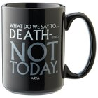 Game of Thrones - God of Death/Not Today Black Mug 15oz