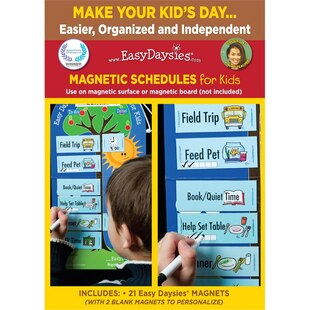 Easy Daysies Chores & Special Times
