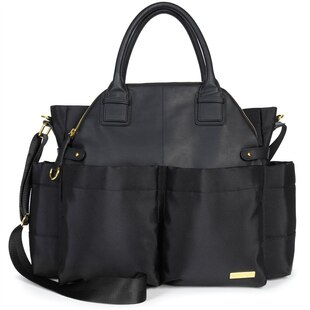 CHELSEA DIAPER BAG BLACK