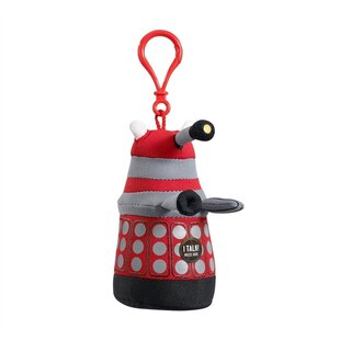 Dr. Who Talking Plush - Red Dalek