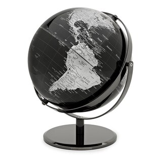 Large Black Globe - 10