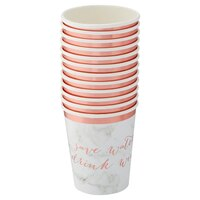 Hobbry Marble Paper Cups - Set of 12 by Hobbry