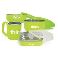 THINKBABY FEEDING SET GREEN by Thinkbaby