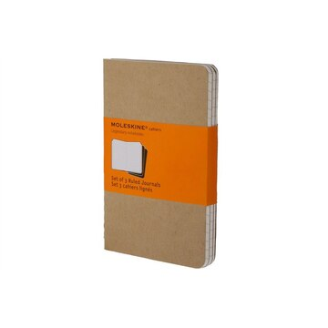 Moleskine Pocket Kraft Cahier Ruled