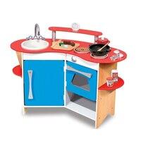 Cook's Corner Wooden Kitchen by Melissa & Doug