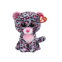 Tasha - Pink/Grey Leopard (Small) by Ty
