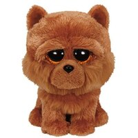Beanie Boos Small -Barley the Brown Chow Dog by Ty