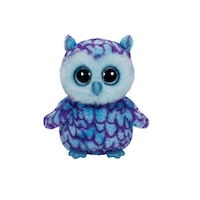 Oscar - Blue/Purple Owl (Medium) by Ty