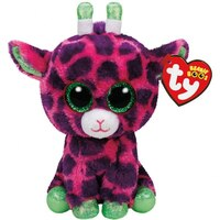 TY BEANIE BOOS gilbert the Pink Girafee (small) by Ty