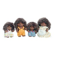 Calico Critters - Pickleweed Hedgehog Family (Bilingual) by Calico Critters