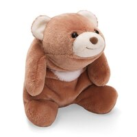"Snuffles Bear Tan 10"" plush by Gund"