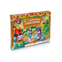 Christmas Countdown Activity Advent Calendar by Crayola