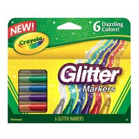 Glitter Markers by Crayola