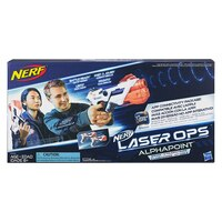 NERF LASER OPS PRO ALPHAPOINT TWO PACK by Hasbro