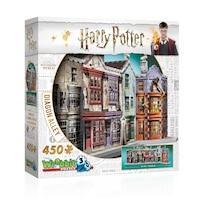 Wrebbit 3D Puzzle - Harry Potter Diagon Alley - 450 Pieces by Wrebbit