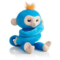 Fingerlings(r) Hugs Monkey Boris Blue by Fingerlings