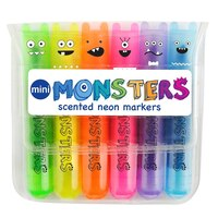 Mini Monsters Scented Markers by International Arrivals