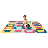Skip Hop PLAYSPOT Geo Foam Floor Tiles, Multi by Skip Hop