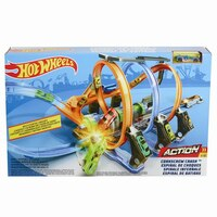 Hot Wheels(r) Corkscrew Crash Track Set by HotWheels