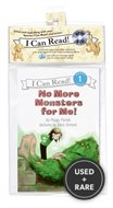 No More Monsters for Me! Book and Cd (I Can Read Book 1)