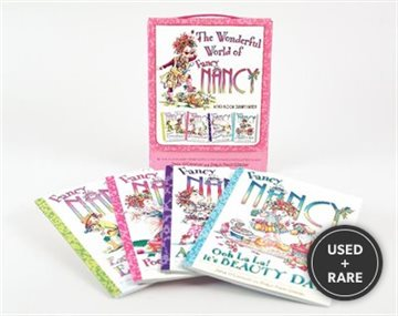 Fancy Nancy: The Wonderful World of Fancy Nancy Four-Book Extravaganza!