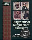 Biographical Supplement and Index (Young Oxford History of African Americans)