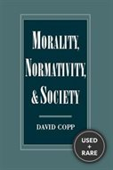 Morality, Normativity, and Society