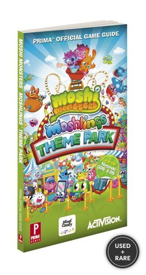 Moshi Monsters Moshlings Theme Park Guide