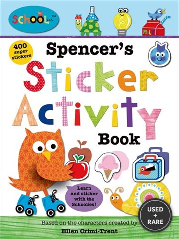 Schoolies: Spencer's Sticker Activity Book
