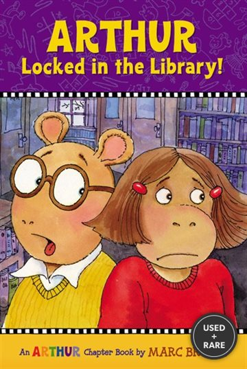 Arthur Locked in the Library! : an Arthur Chapter Book (Marc Brown Arthur Chapter Books)