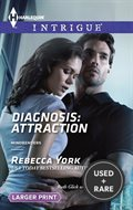 Diagnosis: Attraction (Harlequin Lp Intrigue\Mindbenders)