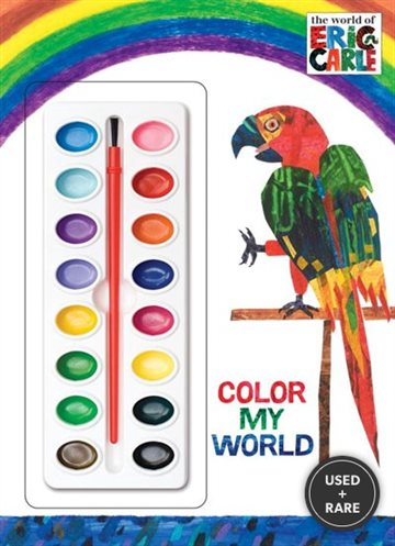 Color My World (the World of Eric Carle) (Deluxe Paint Box Book)