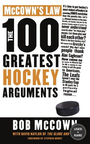 McCown's Law: the 100 Greatest Hockey Arguments
