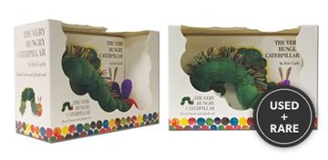 The Very Hungry Caterpillar (Eric Carle) Board Book & Plush Toy