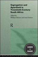 Segregation and Apartheid in Twentieth Century South Africa. Routledge. 1995