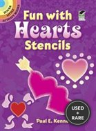 Fun With Hearts Stencils (Dover Little Activity Books)