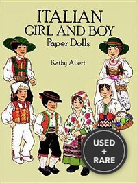 Italian Girl and Boy Paper Dolls (Dover Paper Dolls)