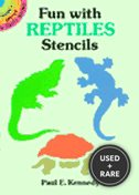 Fun With Reptiles Stencils (Dover Little Activity Books)