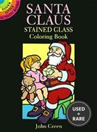 Santa Claus Stained Glass Coloring Book (Dover Stained Glass Coloring Book)