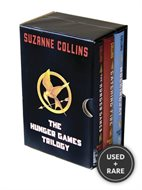 The Hunger Games Trilogy: the Hunger Games---With Catching Fire---With Mockingjay---Three Volumes-Book 1, 2 and 3 ( Boxed Set-Still in Shrinkwrap) ( Slipcase / Box / Slipcased Set )