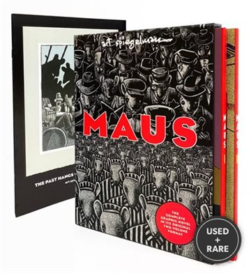 Maus: a Survivor's Tale. I. My Father Bleeds History. II. and Here My Troubles Began